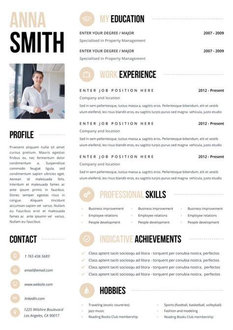 Best Looking Resume Template by Looking For A You Need One Of These Killer Cv Templates From Etsy Cv Template And Etsy