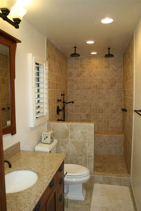 Small Master Bathroom