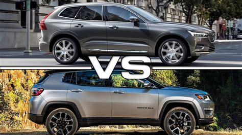 jeep volvo 2017 volvo xc60 vs 2017 jeep compass