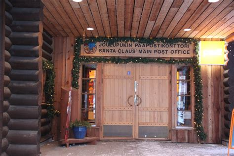 Post Office Santa by Rovaniemi Santa Claus Is The About Lapland