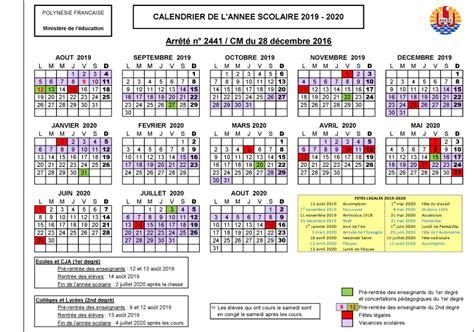 Calendrier Scolaire 2018 19 Calendrier Scolaire 2018 2019
