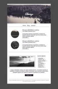 Www Templates by Template Email Gratuit Et Responsive Pour Newsletter Et