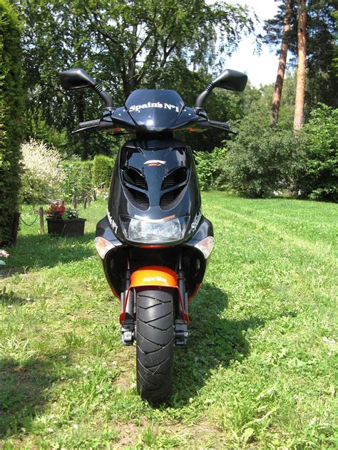Motorrad Nach Entdrosseln Einfahren aprilia sr50 street biete motorrad