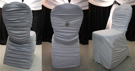 Ruched Chair Covers by Ruched Chair Covers Wedding Chair Covers For Sale