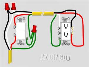 how to wire a split switched outlet by az diy s projects bob vila nation