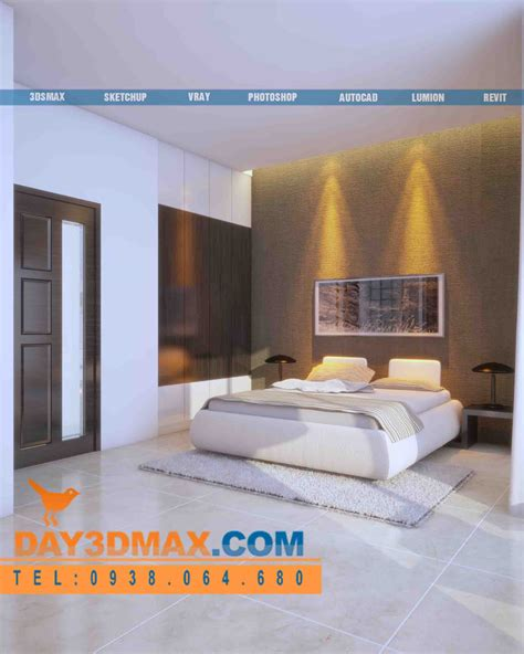 interior perspective of a bedroom online 3d course render an interior of a bedroom with vray