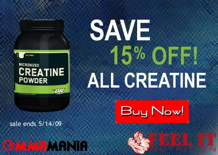 creatine ufc creatine sale starts today waterboard your muscles for