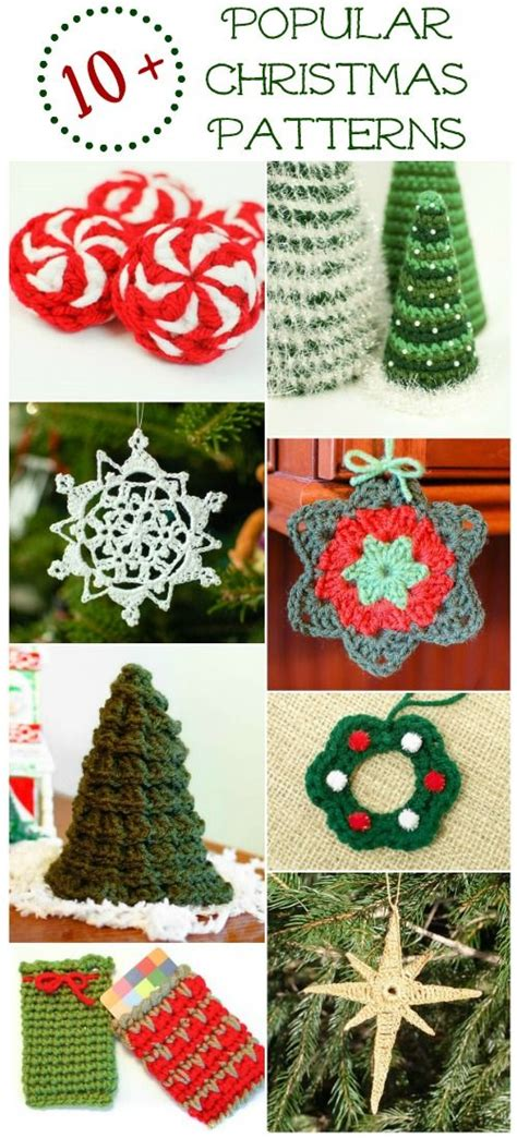 196 best free crochet christmas patterns images on