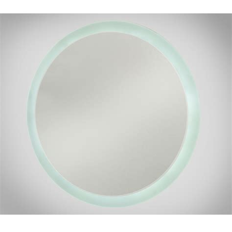 round led bathroom mirror round led illuminated bathroom mirror pleasant design