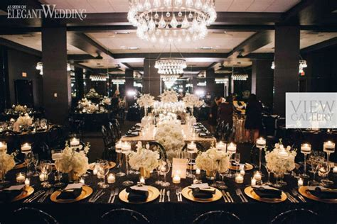 Black and Gold Wedding Inspiration   ElegantWedding.ca