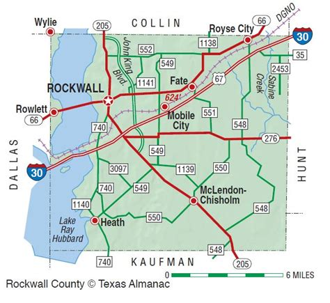 map of rockwall texas rockwall county the handbook of texas texas state historical association tsha
