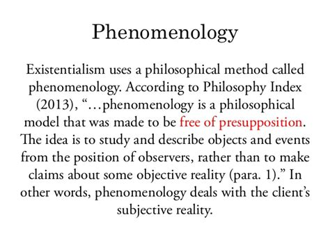 a process model studies in phenomenology and existential philosophy books existentialism