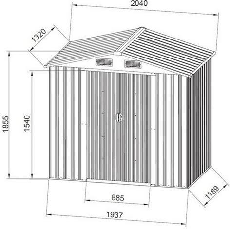casetta porta attrezzi da giardino casetta porta attrezzi da giardino in lamiera verde 204x132