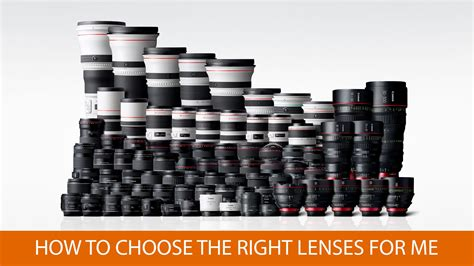 right for me how to choose the right lenses for me tech and