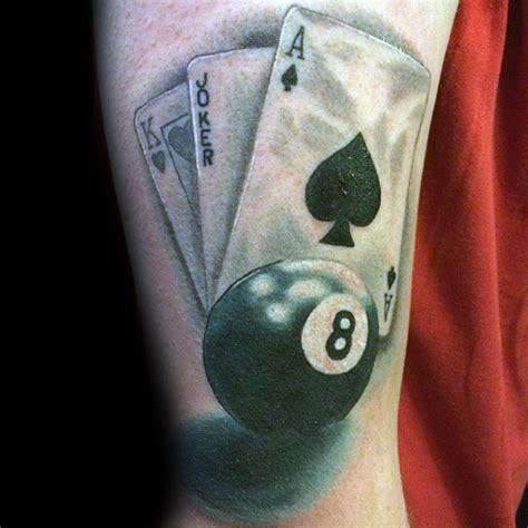 old school tattoo eight ball top 40 best 8 ball tattoo designs for men billiards ink