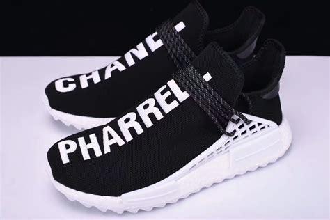 Sepatu Adidas Pharrell Williams 42 pharrell williams x channel x adidas nmd human race black 2017 12 7 129 00 popkickz me