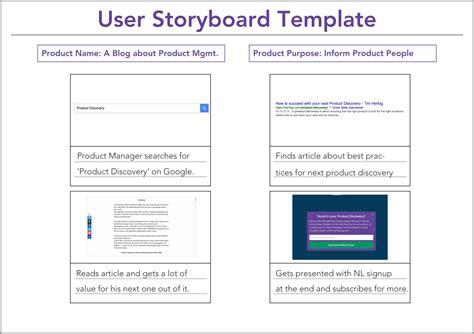 storyboard template software how to use a user storyboard template tim herbig