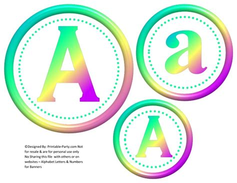 printable rainbow numbers free party printables free printable decorations free