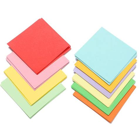 Square Craft Paper - 100pcs 8x8cm brand new origami square paper sided