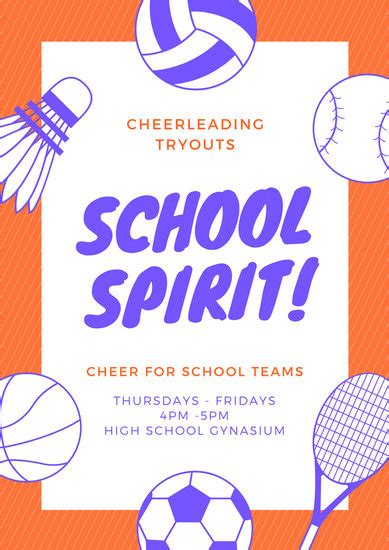 sports day poster template image collections template design ideas