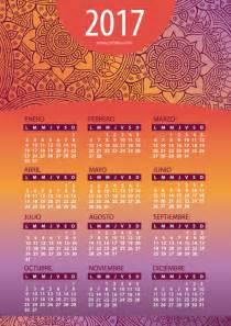 Calendario 2017 Imprimir Gratis Calendarios 2016 Coloridos Para Descargar E Imprimir Jumabu