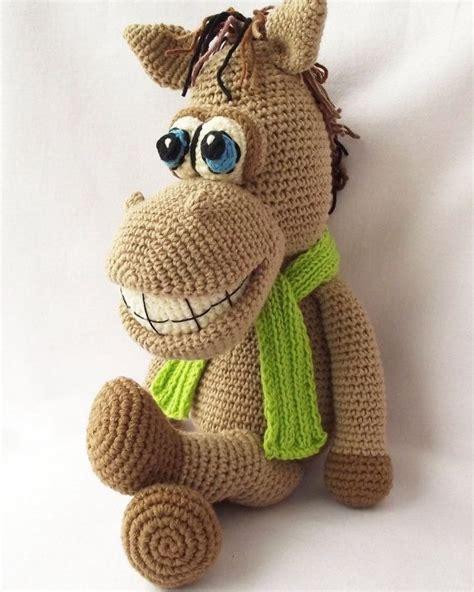 amigurumi horse amigurumi pattern amigurumi crochet by