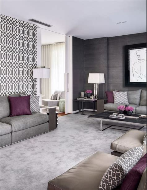 purple and grey living room 1000 ideas about purple grey rooms on purple