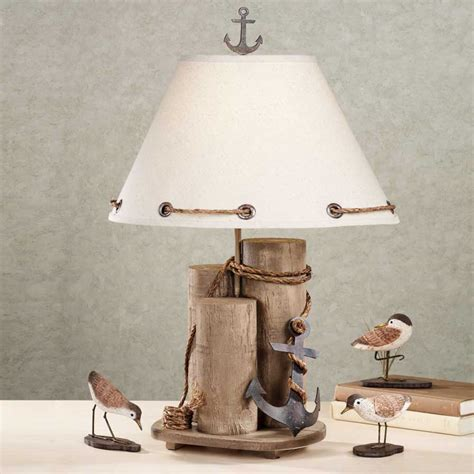 Nautical Themed Bathroom Ideas nautical table lamps with awesome design ideas home