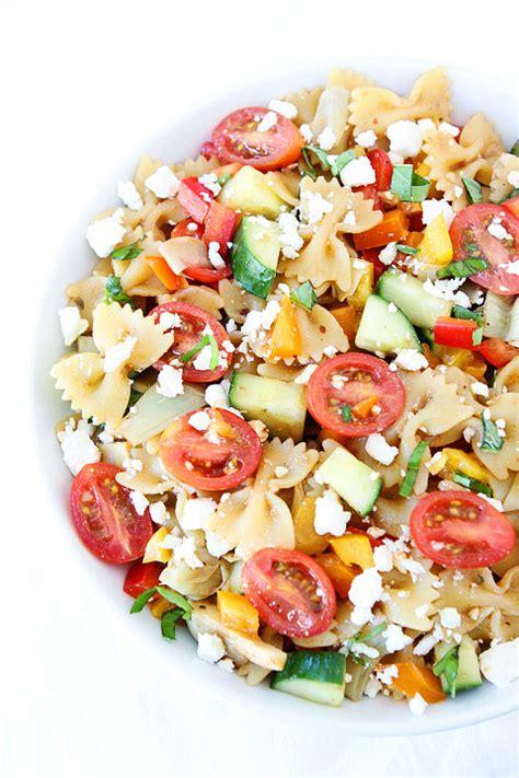 summer pasta salad recipes easy summer pasta salad recipe two peas their pod