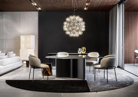 Upholstered Chairs Dining Room minotti dedece