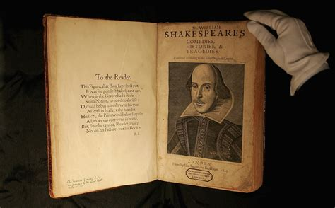 000719790x shakespeare the world as a shakespeare s first folio discovered on scottish island