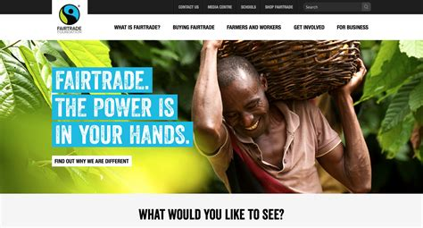 Fairtrade Hub On Ebay by Fairtrade Foundation Celebrates 20th Anniversary With A