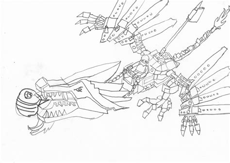 lego ninjago fire dragon coloring pages free ninjago icedragon coloring pages