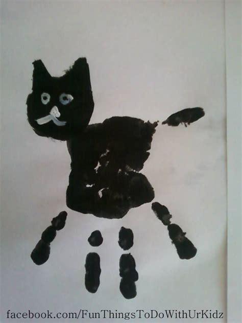 cat craft projects best 25 handprint ideas on footprint