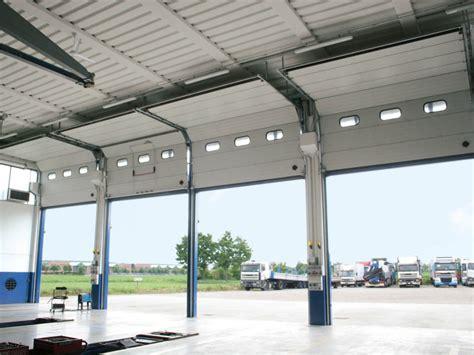 portone sezionale portone sezionale industriale breda steel line secura