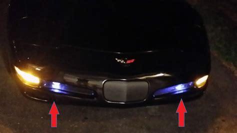 c5 led lights chevy corvette c5 50w 880 led bulbs fog driving light