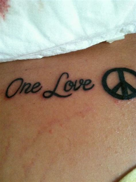one life one love tattoos one images www pixshark images