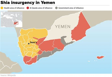 yemen map yemen a spiral into chaos ed times the youth blog