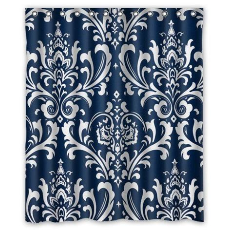 Navy Blue Patterned Curtains Navy Blue Patterned Curtains Promotion Shop For Promotional Navy Blue Patterned Curtains On