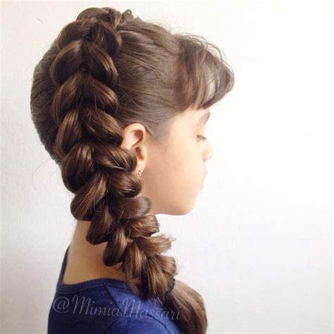 pull through braid easy hairstyles cute girls hairstyles side pull through braid by mimiamassari bella hair