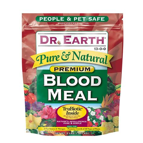 dr earth 2 lb blood meal 716 the home depot