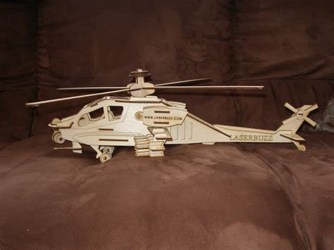 How To Make A Paper Army Helicopter - large 3d wood apache helicopter puzzle kit
