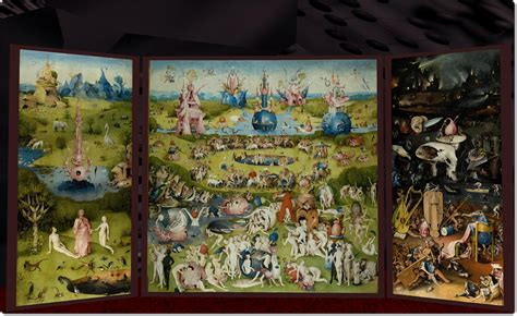 The Garden Of Earthly Delights Print by March 11 2014 Inara Pey Living In A Modem World