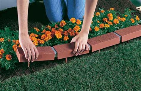 Landscape Edging Or Not Driveway And Sidewalk Decorative Outdoor Plastic Brick