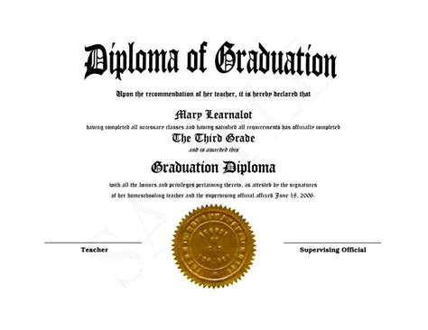 free printable high school diploma templates template
