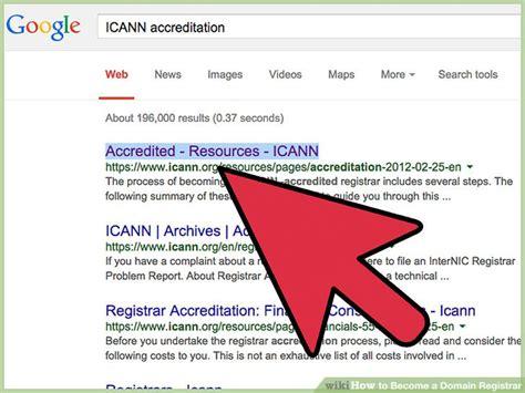 domain registrar  steps  pictures