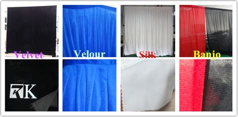 portable stage curtain the composition of portable stage curtain system pipe and