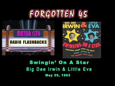 little eva swinging on a star big dee irwin little eva swingin on a star 1963