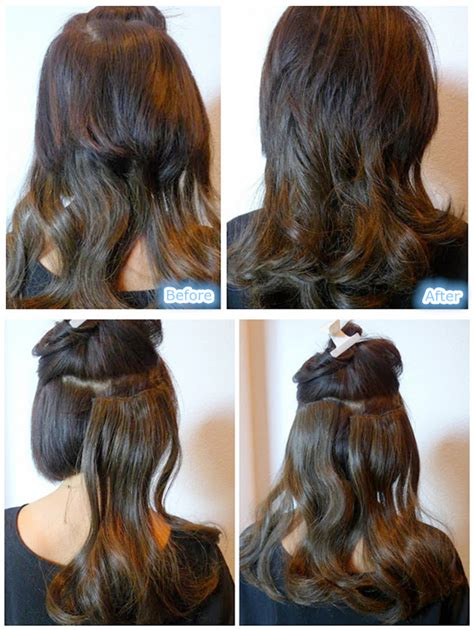 how to put in hair headband hairstyle with clip in extension archives