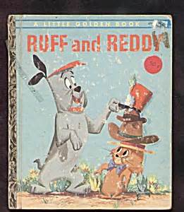 ruff books ruff and reddy golden book golden books